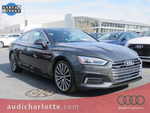 Pre-Owned 2018 Audi A5 2.0T Premium Plus